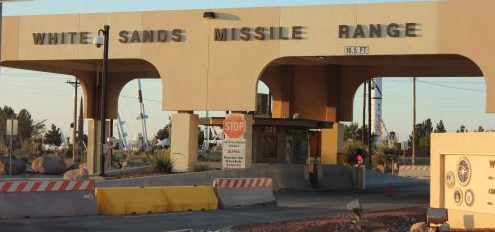 Thursday, Welcome to White Sands Missile Range-T-1 Briefing and WC-50 Set up Day and Friday Schedules