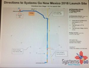 Jal New Mexico Map.Rockets 2018 Begins At Jal New Mexico This Weekend On The
